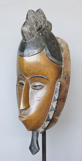 Dance mask Gu Ivory coast Guro-peoples A