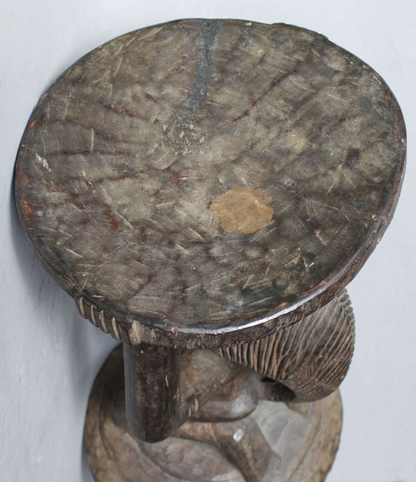 Kipona Stool Luba Peoples Congo O