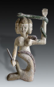 Mermaid Figure Togo Ghana